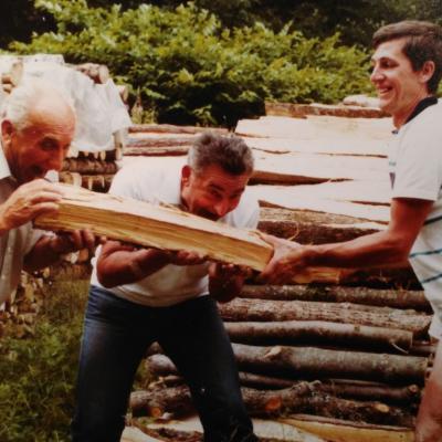 1985 - le Club dans les Vosges