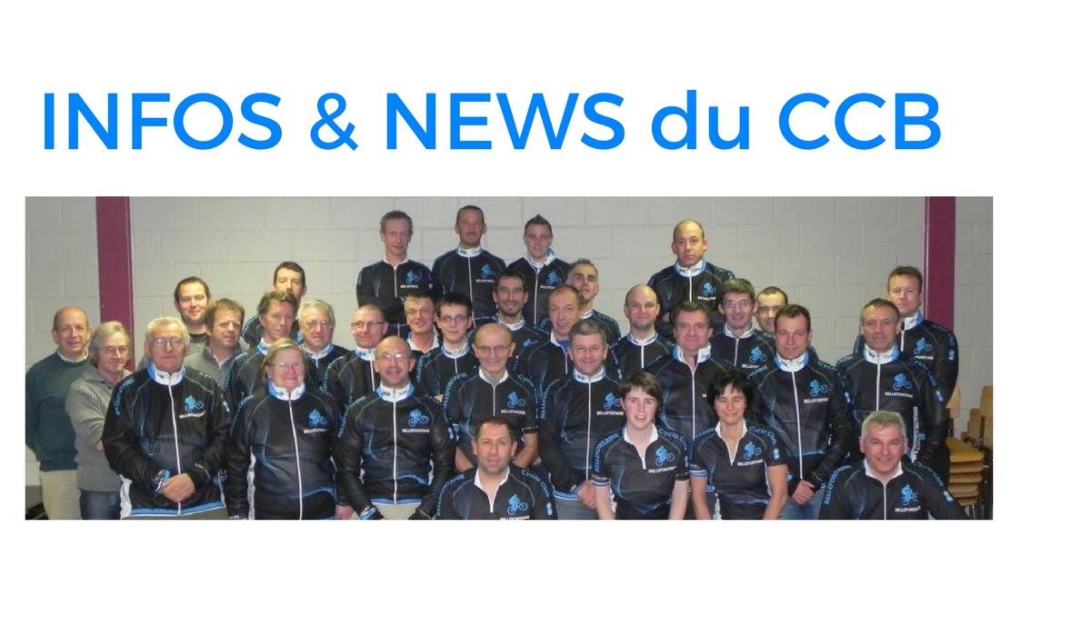 INFOS & NEWS du Club