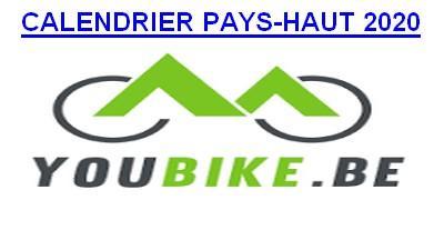 CALENDRIER DU PAYS-HAUT 2020